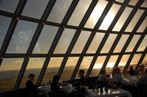 Nyd udsigten fra Perlan Reykjavik og spis en middag imens